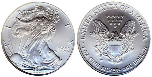2007 American Silver Eagle Silver Eagle Guide